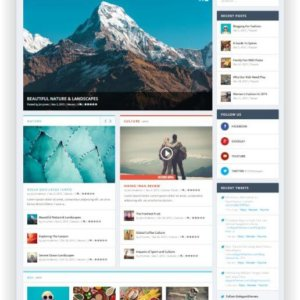 WordPress Theme for Blog and Magazin