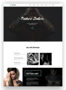WordPress Portfolio Theme Brando