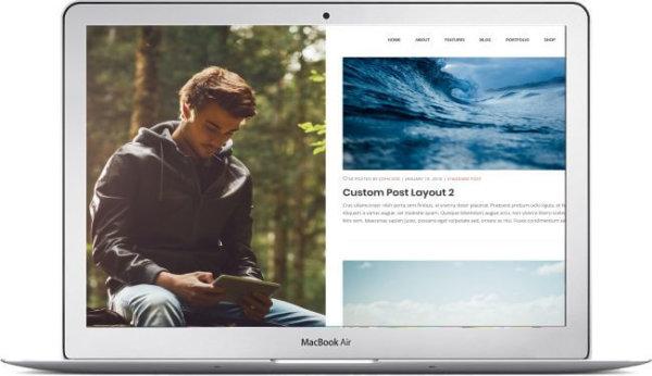 Wordpress Portfolio Theme Fivr