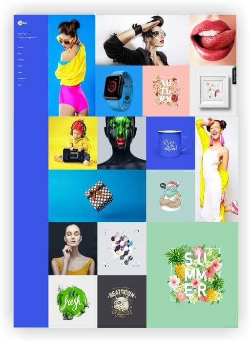 WordPress Portfolio Theme Native