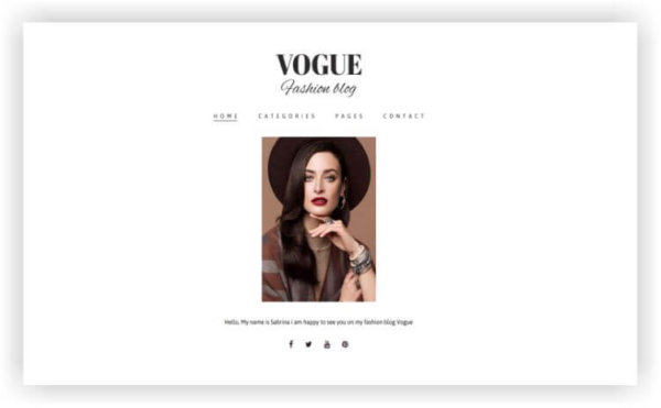 WordPress Fashion Magazine
