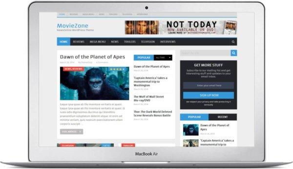 WordPress Nachrichten Magazin Thema