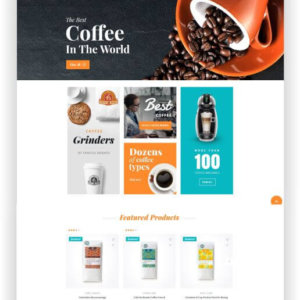 WooCommerce Coffee Theme