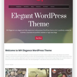WordPress Firmen Webseite