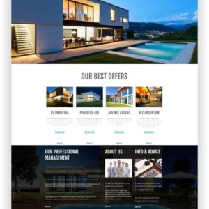 WordPress Immobilien Webseite
