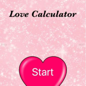 iOS Love Calculator App Theme