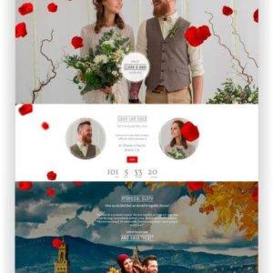 WordPress Wedding Theme Idylle