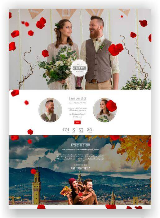 WordPress Wedding Theme Idylle