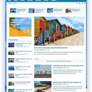 WordPress Reise Magazin Thema