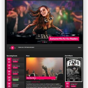 WordPress Musictheme