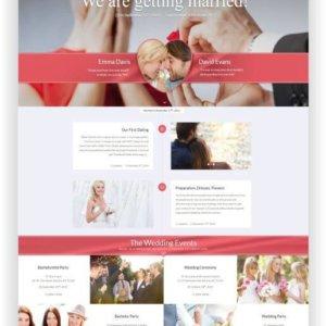 WordPress Hochzeitsthema