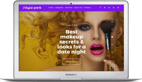 WordPress Beauty Blog