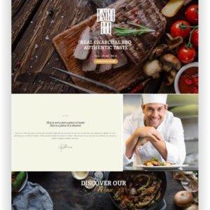HTML Restaurant Template