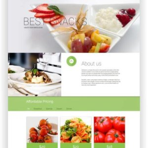 HTML5 Restaurant Theme Mammas Kitchen