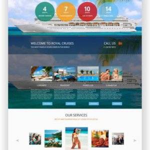 Joomla Cruise Website