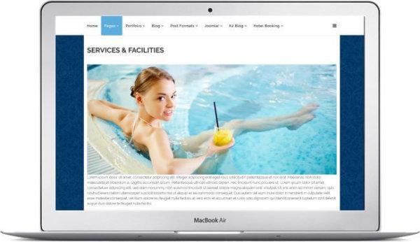Joomla Hotel Booking Website