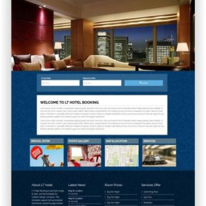 Joomla Hotel Booking Website