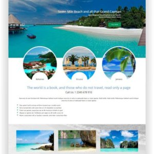 Joomla Travel Website