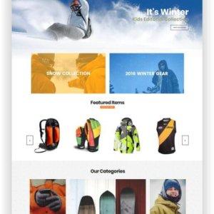 Magento Sport Shop Theme