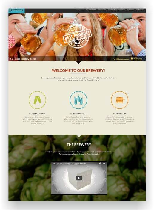Theme for Beer Brewing
