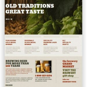 MotoCMS Brewery Website