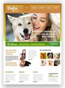 Dog Club Website