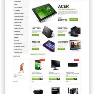 PrestaShop Computer Store Theme