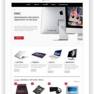 PrestaShop Computer Store Template