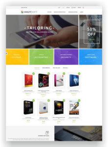 PrestaShop Software Store Theme