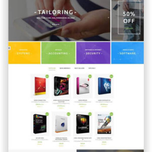 PrestaShop Software Store Theme