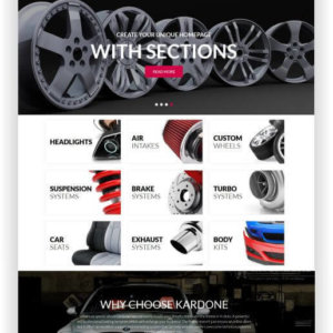 Shopify Car Parts Shop Theme