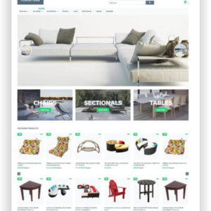 Shopify Furniture Shop Template