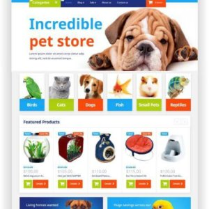 Shopify Pet Store Template
