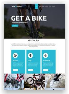 VirtueMart Bicycle Shop Theme