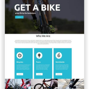 VirtueMart Bicycle Shop Theme