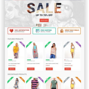 VirtueMart Fashion Theme