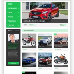 WooCommerce Car Trader Theme