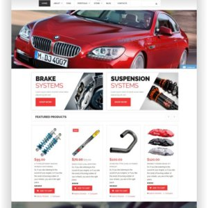 WooCommerce Spare Parts Theme