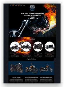 WooCommerce Bike Theme