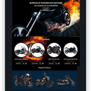 WooCommerce Bike Theme