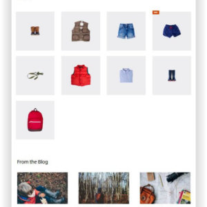 WooCommerce Outfitter Store Theme
