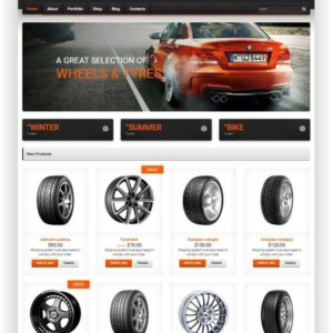 WooCommerce Felgen Shop Template