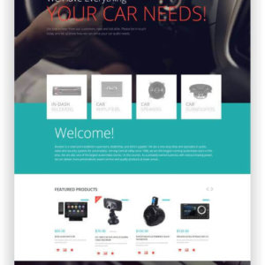 WooCommerce Auto Hifi Shop