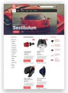 WooCommerce Car Parts Theme