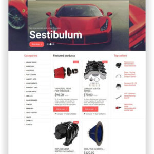 WooCommerce Car Parts Theme
