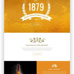 WordPress Brewhouse Theme