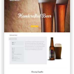 WordPress Brewery Theme