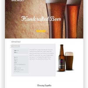 WordPress Brewery Theme