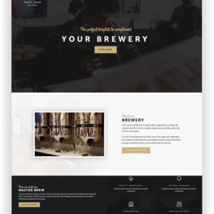 WordPress Craft Beer Template