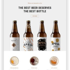 WordPress Craft Beer Theme